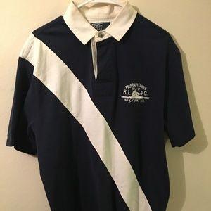 Polo Ralph Lauren classic shirt navy blue Large